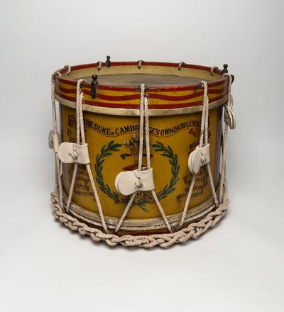 Military tenor drum