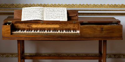 JC Bach's piano
