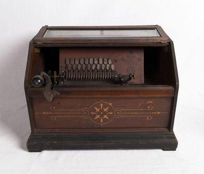 Small bellows organ