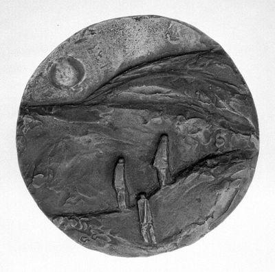 Hegygerincen (Három figura)