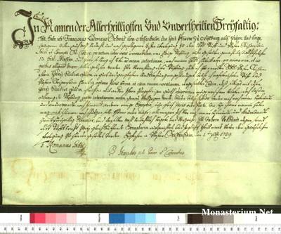 Urkunden 1739 II 01