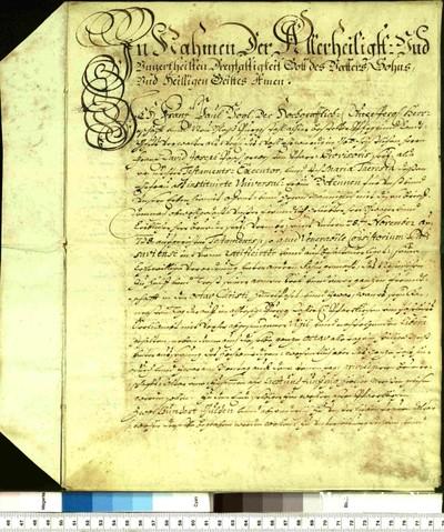 Urkunden 1739 V 01