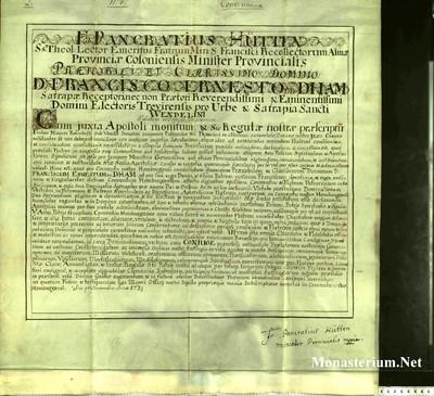 Urkunden 1739 XI 04