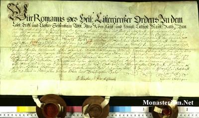 Urkunden 1739 XII 20