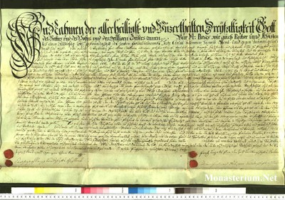 Urkunden 1741 XII 12
