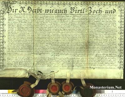 Urkunden 1742 V 24