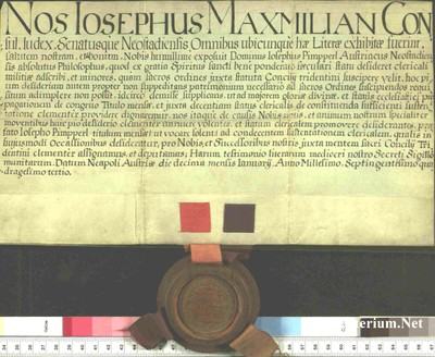 Urkunden 1743 I 10