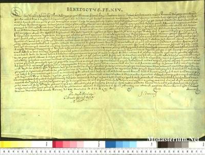 Urkunden 1743 XI 13