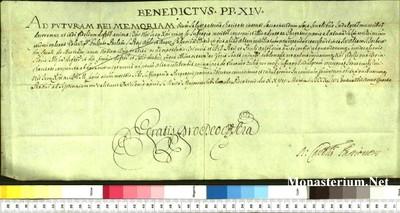 Urkunden 1744 V 27