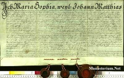 Urkunden 1744 VIII 04