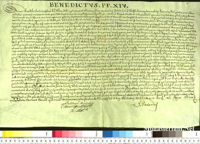 Urkunden 1749 XI 18