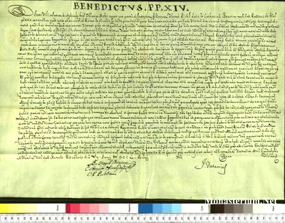 Urkunden 1750 VI 07