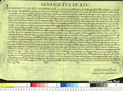 Urkunden 1750 VIII 31