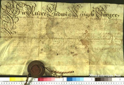 Urkunden 1750 XI 28