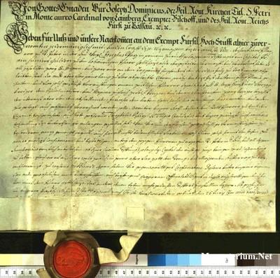 Urkunden 1751 VI 25