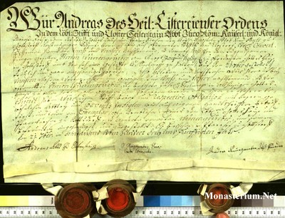 Urkunden 1753 IX 21