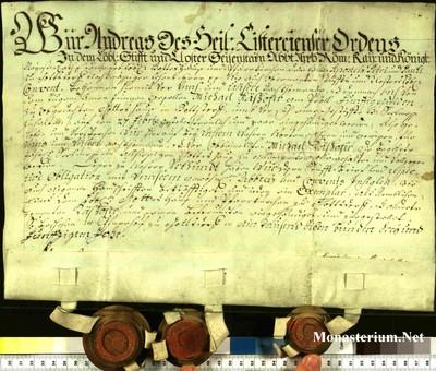 Urkunden 1753 XII 31