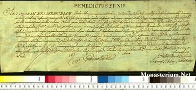Urkunden 1755 X 02