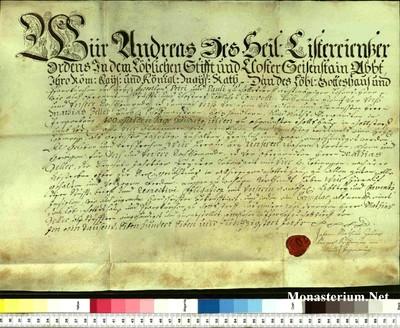 Urkunden 1757
