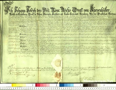 Urkunden 1757 II 25