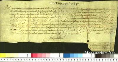 Urkunden 1757 IV 30