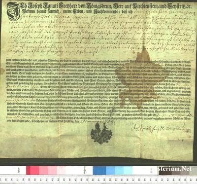 Urkunden 1759 V 15