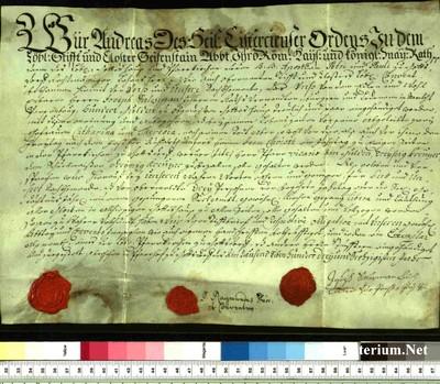 Urkunden 1763