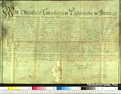 Urkunden 1763 IX 28