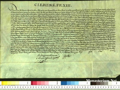 Urkunden 1763 XI 09