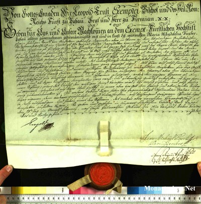 Urkunden 1764 II 13
