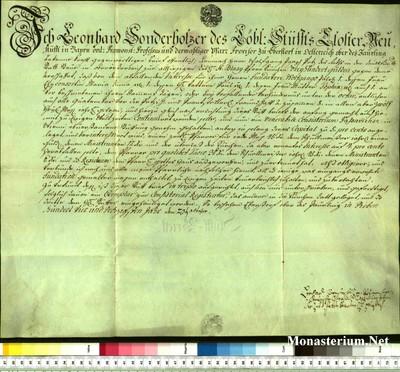 Urkunden 1764 X 23