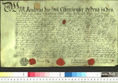 Urkunden 1765 II 25