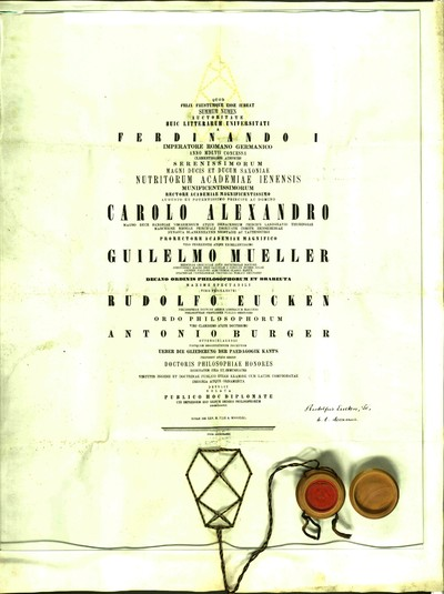 Urkunden 1861 VII 25
