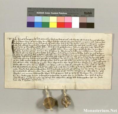 Urkunden 1376 XII 13