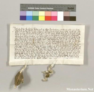 Urkunden 1377 IX 01