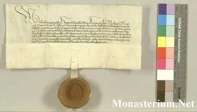 Urkunden 1437 IV 19