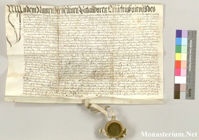 Urkunden 1587 X 15
