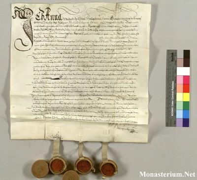Urkunden 1588 X 21
