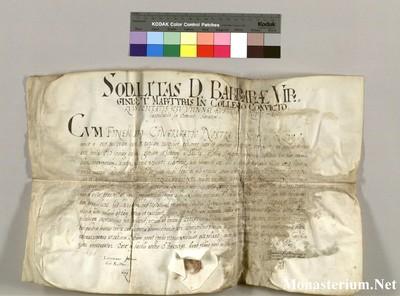 Urkunden 1600 IV 30