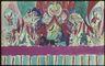 Aleksander Tuurandi lavakujunduse kavandi reprofoto. Tsirkusprintsess (Imre Kalaman). Estonia, 1927. I vaatus.