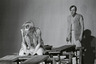 Foto (negatiivikogu). Epp Pillarpardi Punjaba potitehas. (Peet Vallak - Mati Unt). Vanemuine 1975. Tiiskäpp - Ago Roo, Niilas - Aarne Üksküla. Foto Gunnar Vaidla.