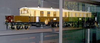 Akkumulatortriebwagen 403/404 Bauart Wittfeld, Baureihe ET178 der Deutschen Bahn, Modell 1:10
