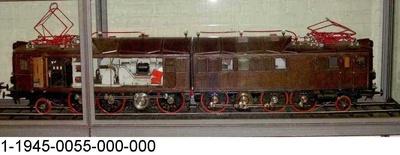 Elektrische Doppellok für die Erzbahn von Narvik in Schweden, Modell 1:10