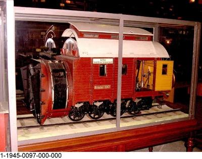 Dampfschneeschleuder Breslau 3001, Modell 1:5