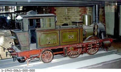 Tenderdampflok T 4.2 BRESLAU 1458, Modell 1:5