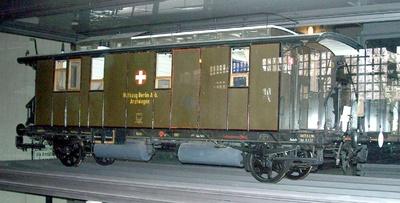 Arztwagen Berlin 009 Anhalter Bahnhof, Modell 1:5