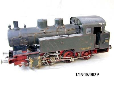 Tenderlok 31der Mecklenburgischen Friedrich-Wilhelm-Eisenbahn (MFWE), Modell 1:10