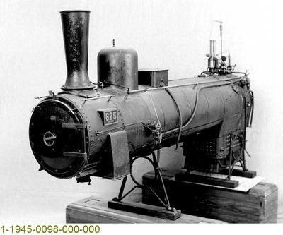 Nassdampfkessel der Güterzug-Dampflok G 4 ESSEN 625, Modell 1:5