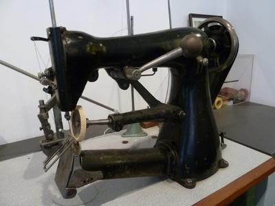 Nähmaschine aus der Hutproduktion