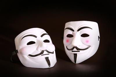 Guy-Fawkes-Maske - Occupy-Maske - Vendetta-Maske - Anonymus